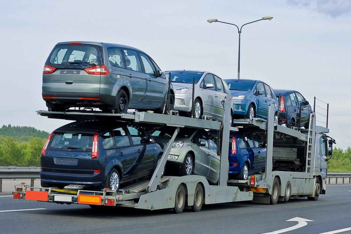 Transporto priemonių supirkimas ir transportavimas nuo nupirkimo vietos
